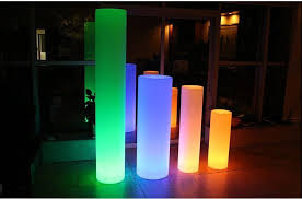 Remote Control Landscape Lighting - chargeable remote control illuminated led floor lamp home garden