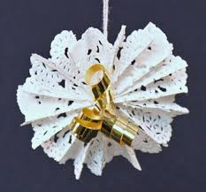 Christmas Decorations With White Paper by Ornaments U2013 Funezcrafts Funblog