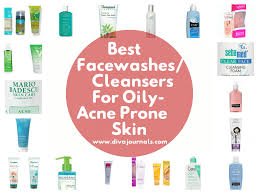 best facewashes for oily acne prone skin diva journals