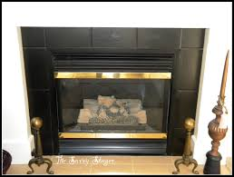 Paint Tile Fireplace by Who Says You Can U0027t Paint Tile The Savvy Stager