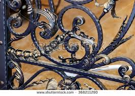 wrought iron fence stock images royalty free images vectors