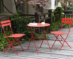 Folding Bistro Table And 2 Chairs Balcony Chair Andable Design Ideas For Outdoors Excellent