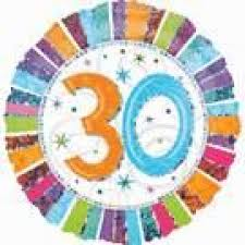 30th birthday balloons delivered 30th birthday balloons perth 30th birthday balloons perth delivery