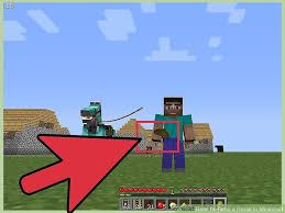 How To Build A Horse Barn In Minecraft 3 Ways To Tame A Horse In Minecraft Wikihow
