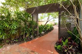 privacy landscaping ideas photos landscape midcentury with florida