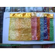 organza gift bags gift bags organza at rs 5 pieces decorative batwa ashit