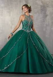 green quinceanera dresses illusion a line quinceanera dress by mori vizcaya 89170 abc