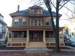 colonial revival in brookline ma historic house colors