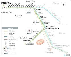 san jose light rail map san jose airport map airport map plus airport map light rail map map