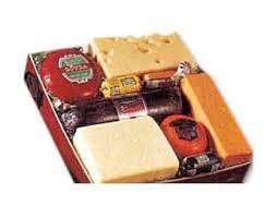 popular cheese and sausage variety gift box