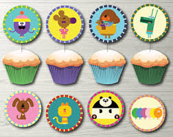Cupcake Decorating Party Hey Duggee Etsy