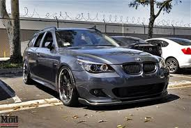 e60 bmw 5 series carbon fiber front lip for 2004 10 bmw 5 series msport e60 hm style