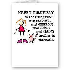 funny birthday card sayings for mom