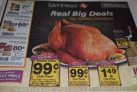 safeway thanksgiving deals
