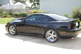 2003 Black Mustang Convertible 18x9 18x11 5 Three Piece Sleeper In Chrome U2039 True Forged Wheels