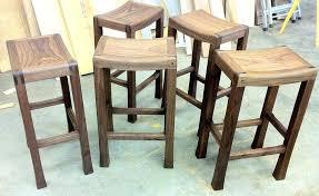 Wood And Metal Bar Stool Bar Stool Vintage Backless Counter Height Bar Stools Backless