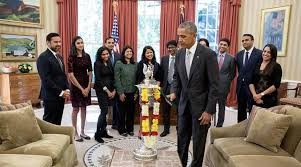 us president barack obama celebrates diwali lights first ever