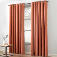 Burnt Orange Curtains Textile Warehouse Indra Eyelet Burnt Orange Curtains