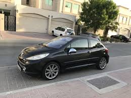 peugeot cuba rc peugeot 207 black turbo 175 horse power dubai uae storat