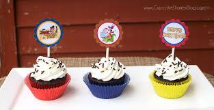 jake land pirates cupcakes free cupcake toppers