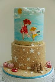 beer barrel cake summer fun satin ice