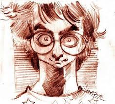 harry potter sketch by caricaturas famous people cartoon toonpool