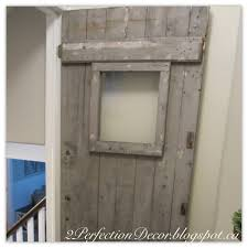 Distressed Barn Door by 2perfection Decor Added Another Antique Barn Door
