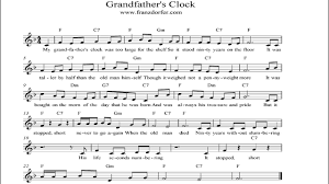 grandfather s grandfathers clock instrumental youtube
