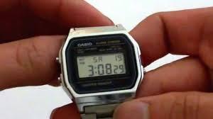 mens bracelet digital images Casio men 39 s a158w 1 classic digital stainless steel bracelet watch jpg