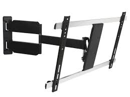 home theater wall stand full motion tv wall mount max 55 lbs 37 70 inch monoprice com