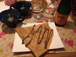 cuisine et compagnie crêpes nutella et cidre demi sec picture of crepes cidre et