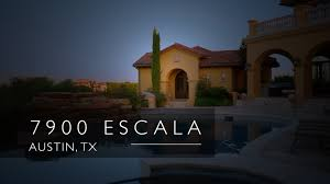 Luxury Home Builders Austin Tx by Luxury Home Walkthrough Review Austin Tx 7900 Escala Youtube