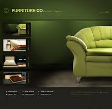 website template 21346 furniture company home custom website