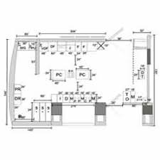 plan layout of a commercial indian kitchen home design ideas
