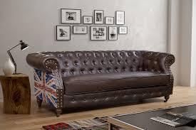 shabby chic leather sofa union jack chesterfield hi home furniture living room sofa shabby