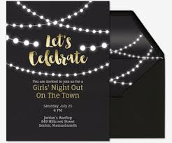 girls u0027 night free online invitations