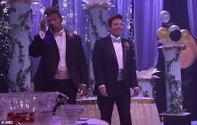 jimmy fallon and dwayne u0027the rock u0027 johnson perform prom