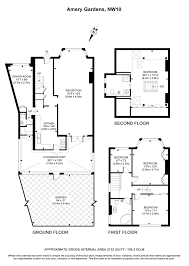 the amery floor plan 4 bedroom house for sale in amery gardens london nw10 true
