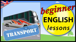 vehicles and transport in english beginner english lessons for