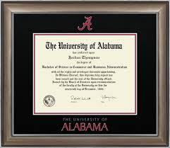 of alabama diploma frame the of alabama tuscaloosa dimensions diploma frame in