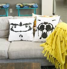 a kailo chic life craft it rorschach inspired halloween pillows
