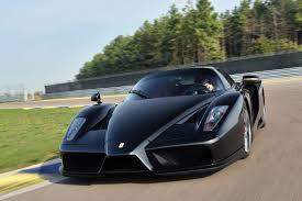 black enzo rebuilt black enzo sells for 1 75 million at auction