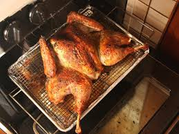 herb rubbed crisp skinned butterflied roast turkey recipe