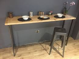 Breakfast Bar Table Ikea Breakfast Bar Table Bistro Table Made From Solid Reclaimed Wood