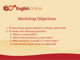live u0026learn writing a cover letter