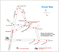 Silver Airways Route Map by Kerala Tourism Travel Guide Kerala Christian Pilgrimage Locations