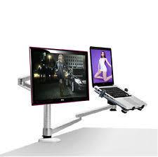 swivel arm laptop table laptop arm ebay