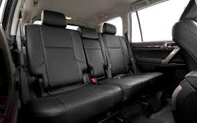 lexus gx second row bucket seats comparison lexus gx 460 luxury 2015 vs toyota highlander