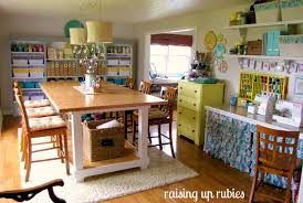 dining room craft room design plans