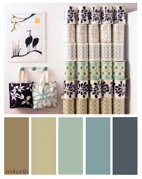 eggshell and beige neutral colour scheme for interior design
